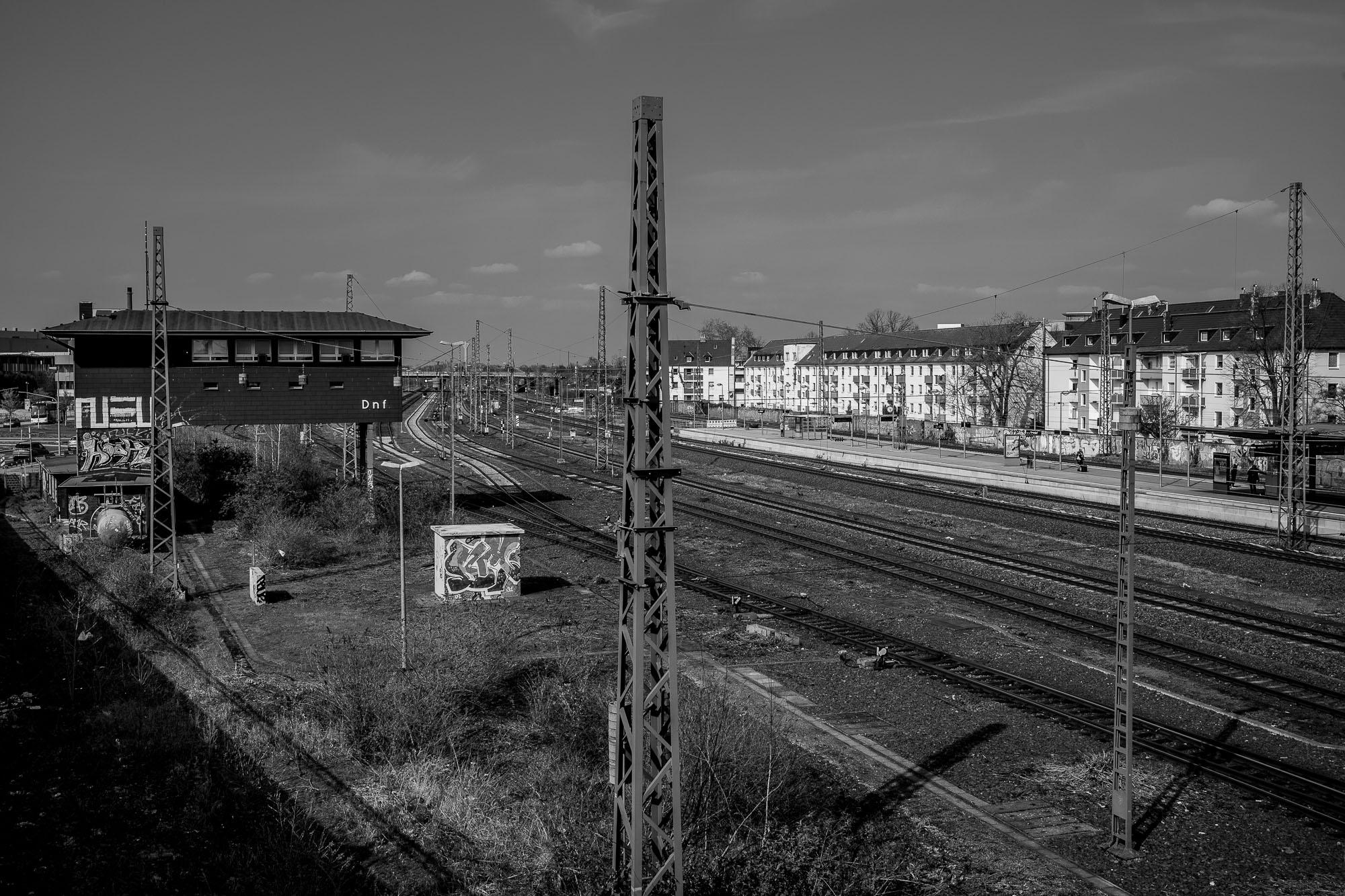Düsseldorf train tracks