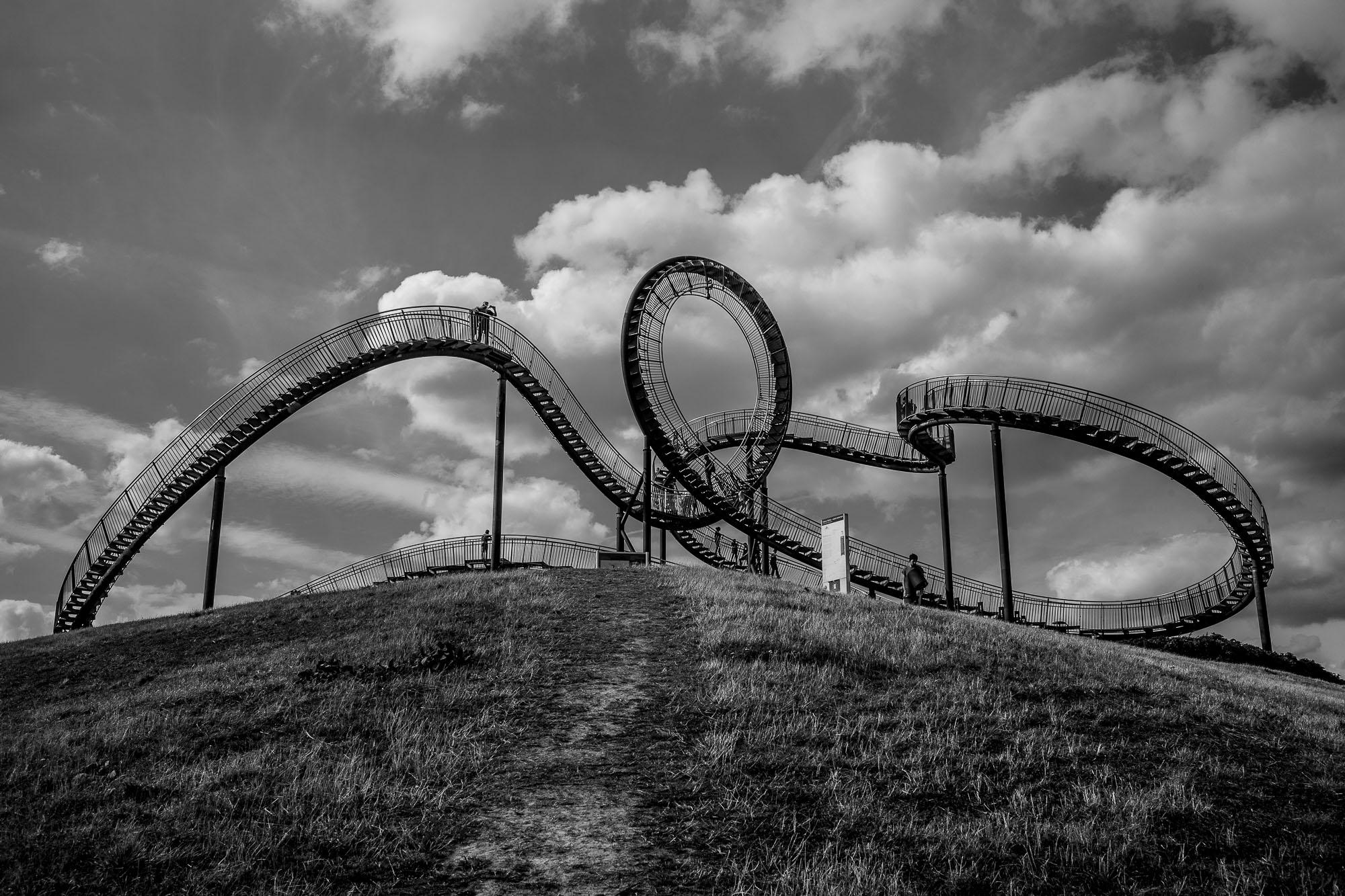 Tiger & Turtle, Magic Mountain in Duisburg