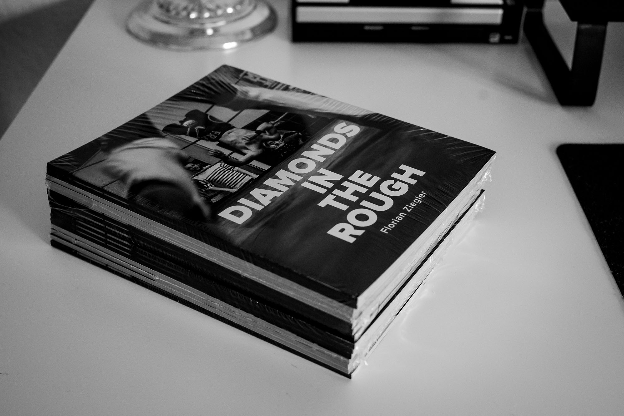Copies of my photo zine