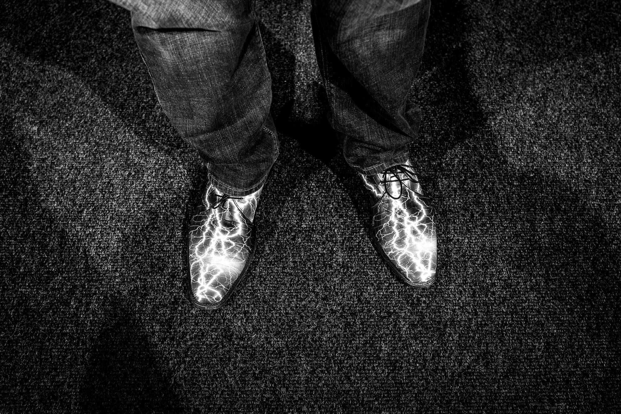 Mike Herchel's shoes
